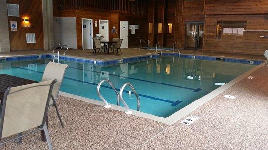 Best Western Ambassador Inn & Suites: Indoor Pool Area