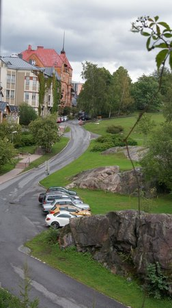 Park Hotel Turku : 閣樓望窗望出去的美景