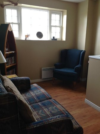 Moosonee, Canada: Upstairs sitting area