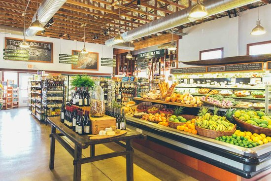 Living Foods Gourmet Market and Cafe: The market carries over 3,000 products.