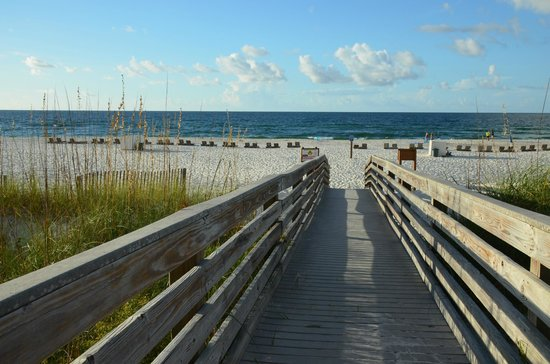 Holiday Inn Express Orange Beach: This is the best walk you will take right from your room