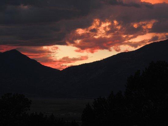 KOA Campground: Beautiful Sunset