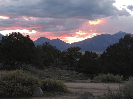 KOA Campground: Another nice sunset