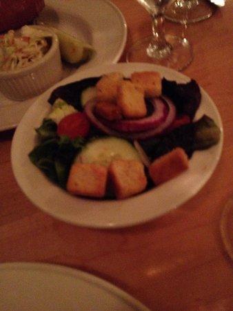 Fabyan's Station Restaurant and Lounge: Garden Salad