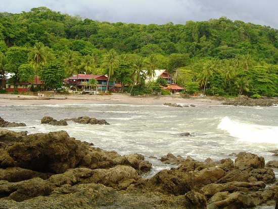 Ylang Ylang Beach Resort: the Town of Montezuma is the starting place to get to Ylang Ylang about 1 km down the beach