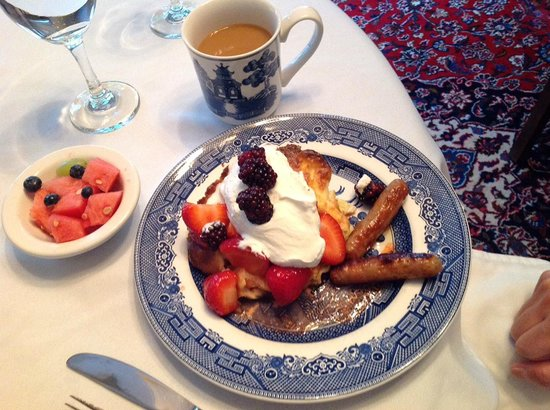 The Willows Inn: Another great breakfast