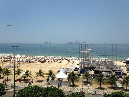 Praia Ipanema Hotel: Vista do quarto