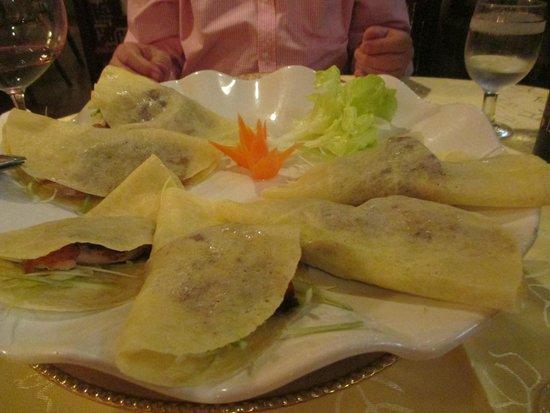 Han Palace: Duck Pancakes