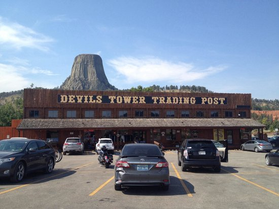 Devils Tower, WY: DT Trading Post