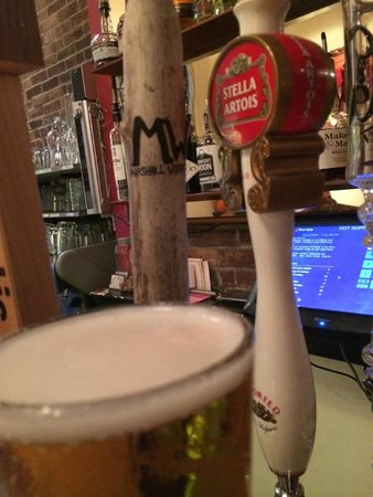 Hot Suppa: beer