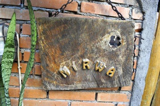 Nirwa Ubud Homestay: nirwa homestay sign