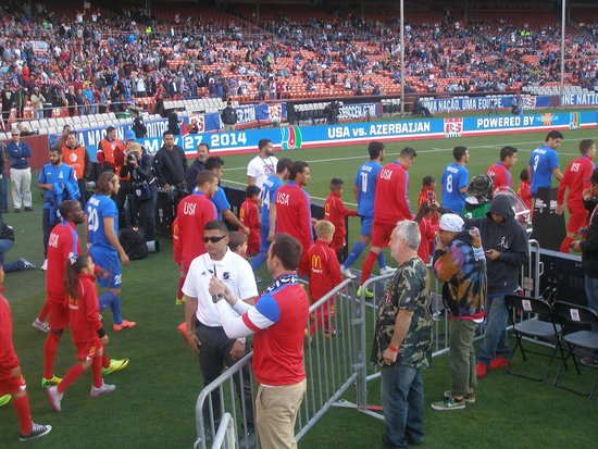 Candlestick Park : USA vs Azerbaijan (2014)