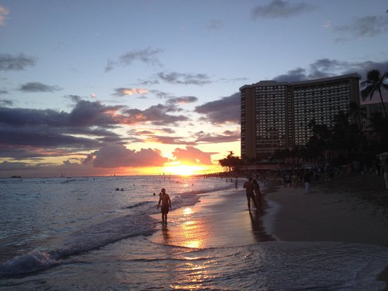 Waikiki Central Hotel: Only a 2 minute walk from this