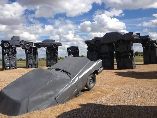 Alliance, NE: Carhenge.
