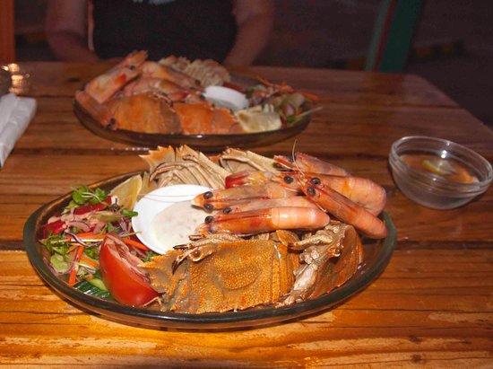 Winton, Australië: Great seafood