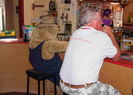 Winton, ออสเตรเลีย: Locals drinking 2