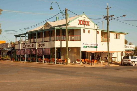 Winton, ออสเตรเลีย: Hotel view