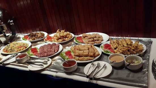 Ozone Thai Restaurant: Buffet