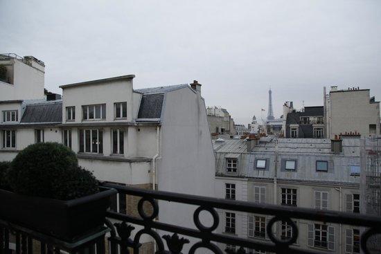 Hotel Balzac: вид из номера