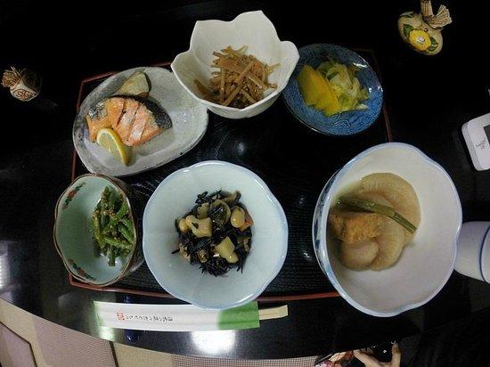 Ryokan Uemura : Breakfast