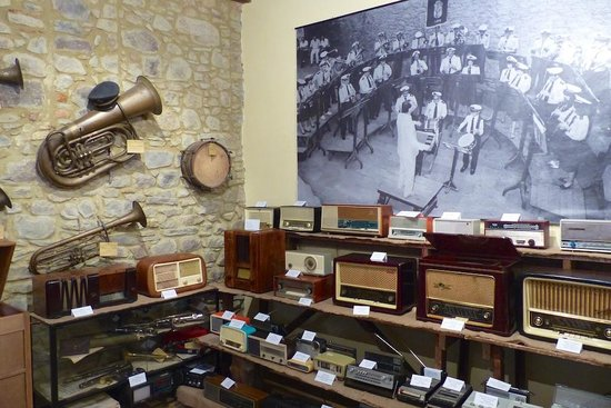 Casa Vacanze Le Muse: One of the museum exhibits in Sillico