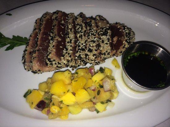 Lou & Mickey's: Yellow fin tuna