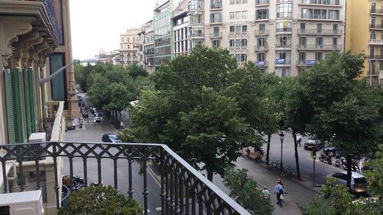 Art City Hostel: View from the Veranda