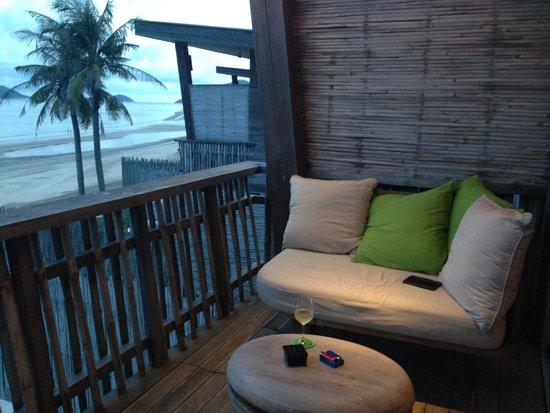 Six Senses Con Dao : Villa balcony