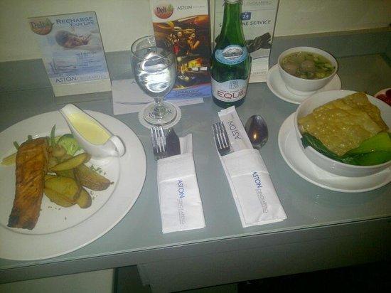 Aston Cengkareng City Hotel & CC : salmonicious