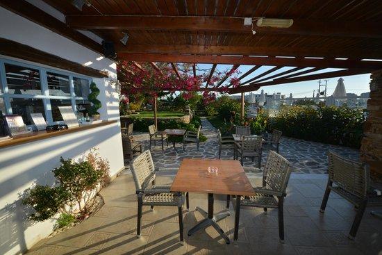 Birikos Studios & Apartments: Snack-Bar