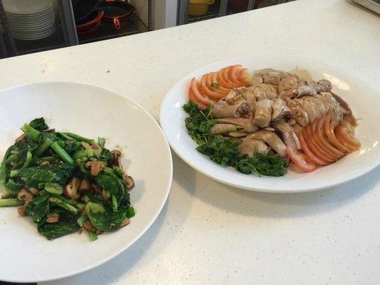 Palate Sensations Cooking School Day Classes: Sambal Kang Kong & Hainanese Chicken