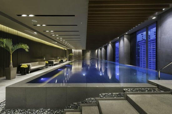 Indoor Infinity Pool Picture Of Marco Polo Ortigas Manila Pasig Tripadvisor