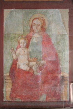 Santuario S.Maria degli Angeli: affresco madonna