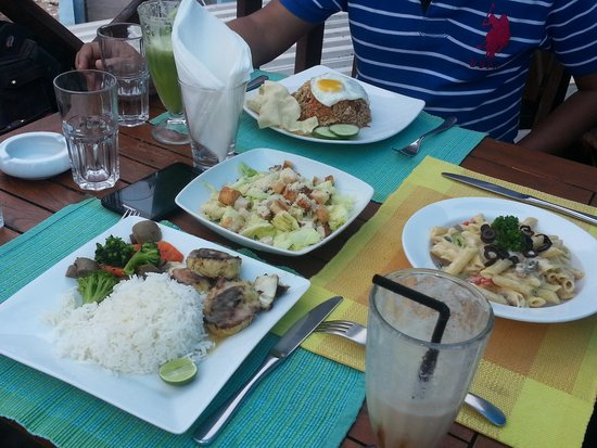 The Sea House - Maldives: Good Food