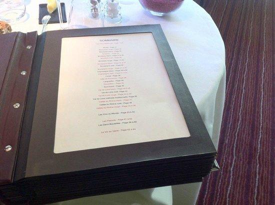 Auberge des Matfeux : Le livre des vins ...