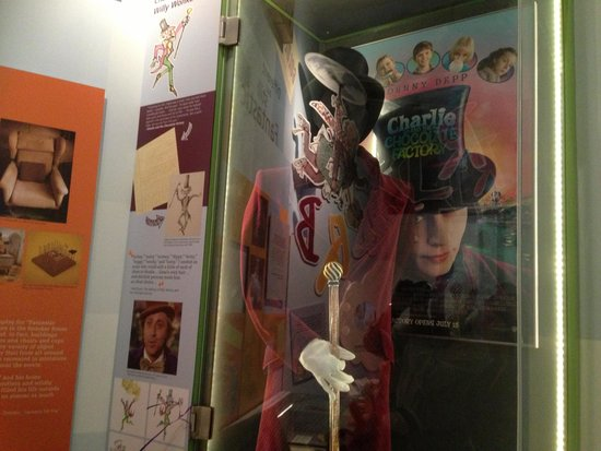 The Roald Dahl Museum and Story Centre : Willy Wonka