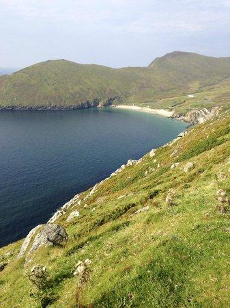 Atlantic Drive on Achill Island: På väg till Keem Beach