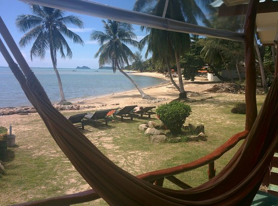 Green Peace Bungalows : Beachfront rooms are totally worth the extra few THB!