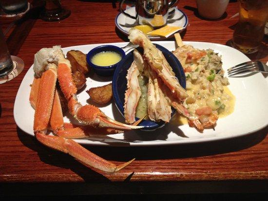 Red Lobster: misto pesce con granchio