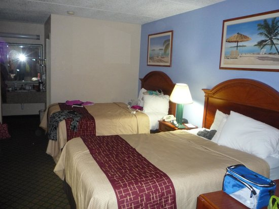 Red Roof Inn Galveston - Beachfront/Convention Center : double non smoking