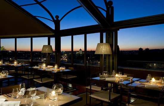 la terrasse cuisine lounge by night picture of la terrasse cuisine lounge rome tripadvisor. Black Bedroom Furniture Sets. Home Design Ideas