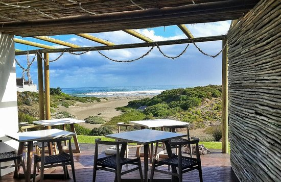 Strandloper Ocean Boutique Hotel : View from the lounge area