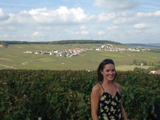 Champagne Domi Moreau: Me on the tour