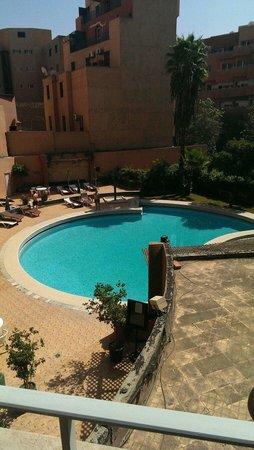 Agdal Hotel : Blick vom Zimmer