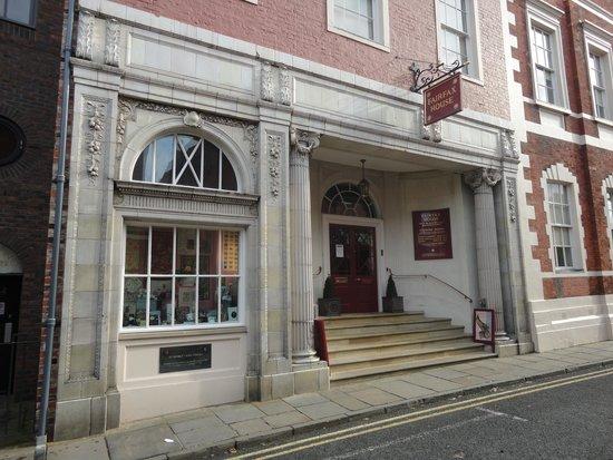 Fairfax House : The old 1920s cinema entrance