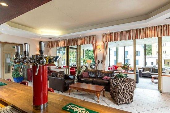 Hotel Terminus Mont-Blanc : Bar Area