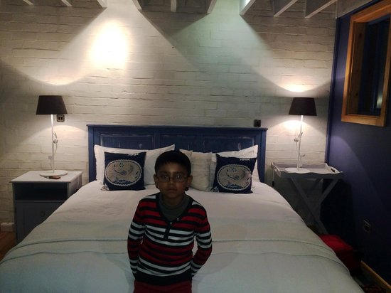 The Lofts Boutique Hotel : Master Bed
