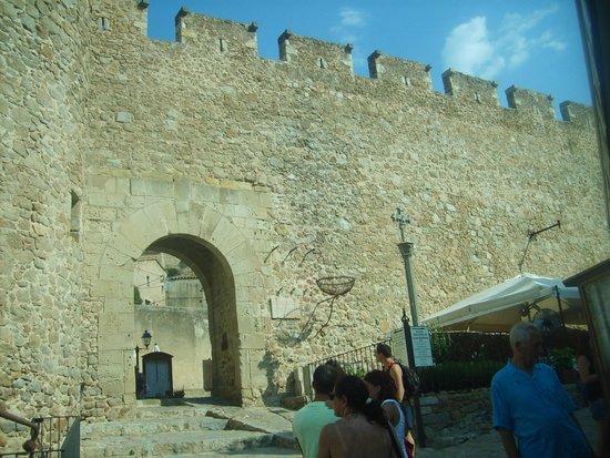 Moorish Tower: mura di tossa de mar