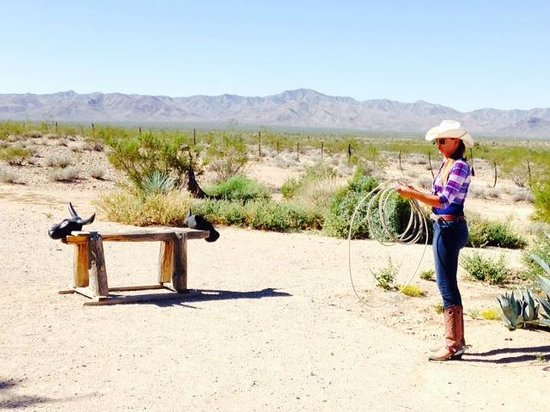 Stagecoach Trails Guest Ranch: Amazing backdrop & authentic ranch activities