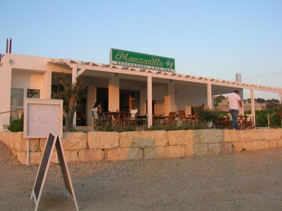 Киссонерга, Кипр: front
